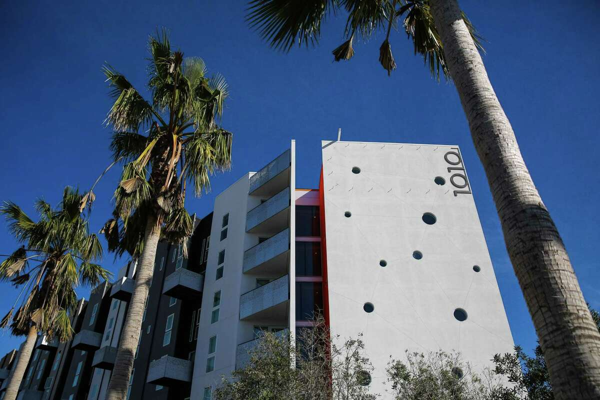 The exterior of the 1010 Potrero building is seen on 16th Street in San Francisco, California, on Tuesday, Feb. 14, 2017.