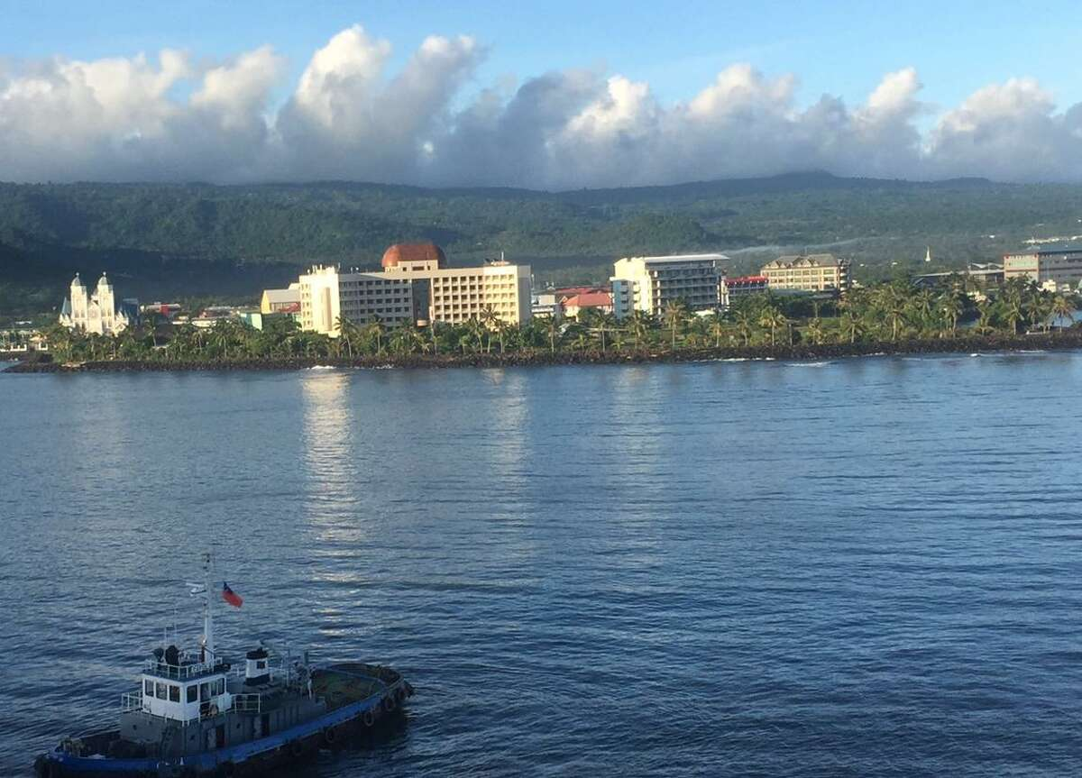 The sun rises in Apia, Samoa, a small city ringed by green hills. A cruise offers a fresh perspective on the benefits and drawbacks of life in San Francisco.