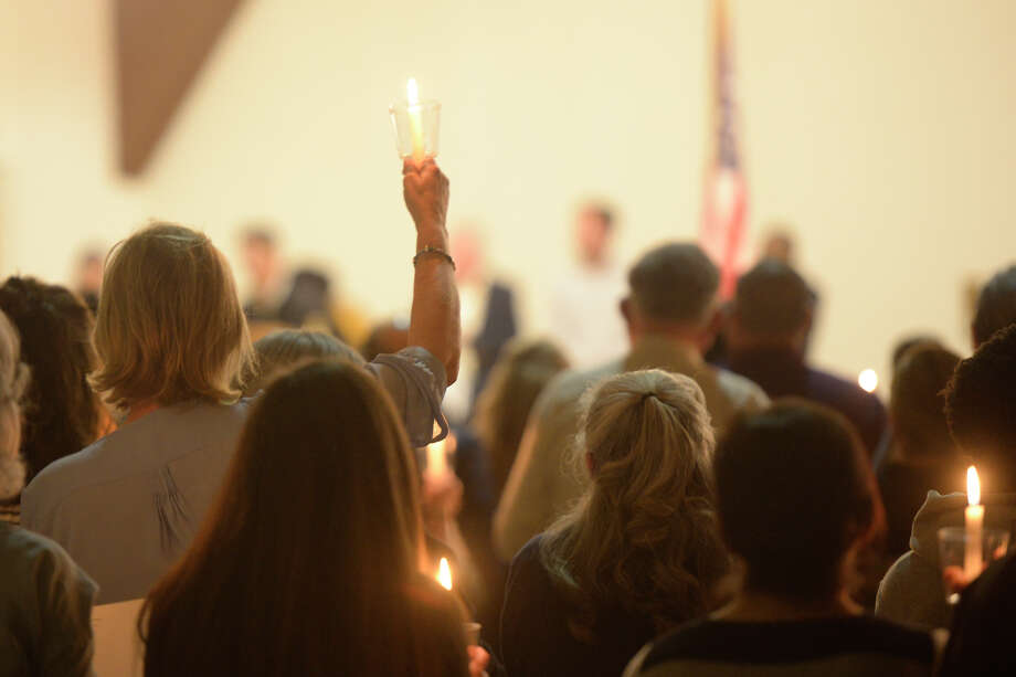 Midland religious leaders joined members of the community for a interfaith vigil to show support for immigrants on Saturday, March 11, 2017, at Our Lady of Guadalupe. James Durbin/Reporter-Telegram Photo: James Durbin
