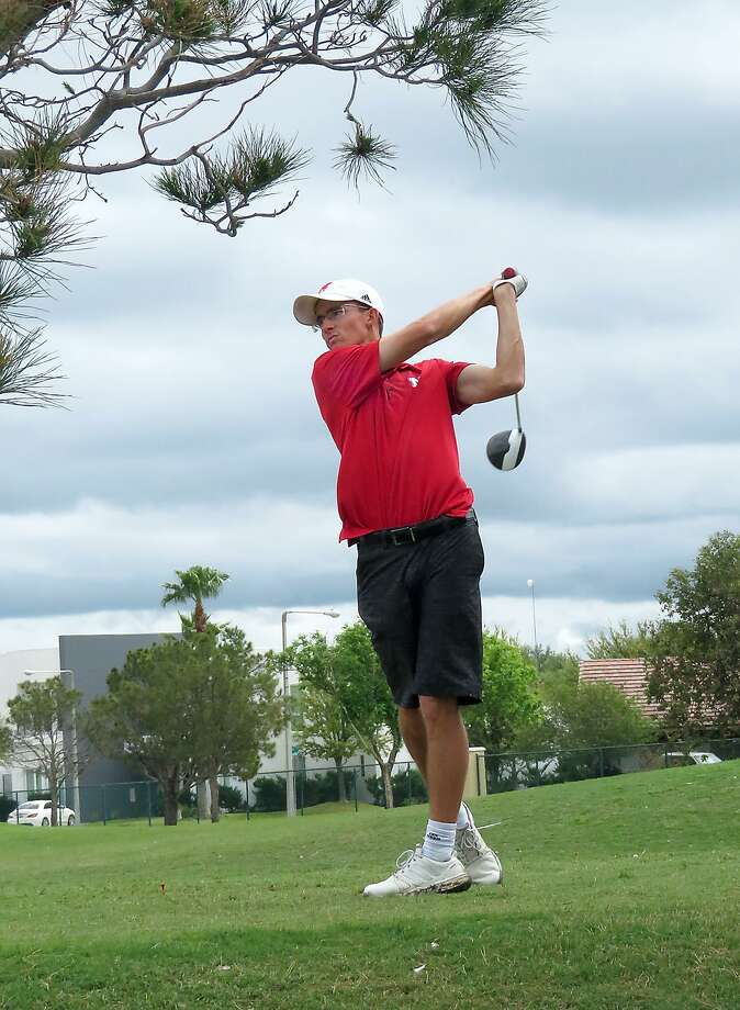 Nebraska's Mike Colgate won the individual Border Olympics collegiate golf tournament on Saturday shooting a 9-under par 135 in the two-day event. Photo: Cuate Santos /Laredo Morning Times / Laredo Morning Times