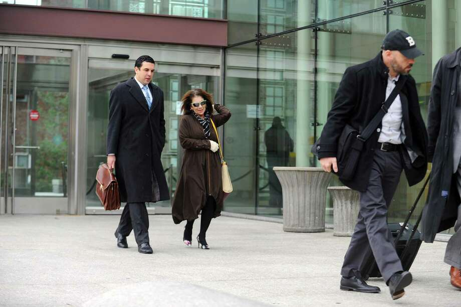 Former Stamford High School Principal Donna Valentine And Attorney Ryan  Ou0027Neil Leave State Superior