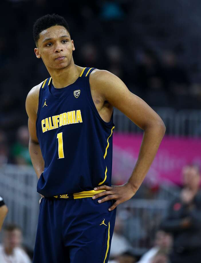 LAS VEGAS, NV - MARCH 09:  Ivan Rabb #1 of the California Golden Bears stands on the court during a quarterfinal game of the Pac-12 Basketball Tournament against the Utah Utes at T-Mobile Arena Arena on March 9, 2017 in Las Vegas, Nevada. California won 78-75.  (Photo by Ethan Miller/Getty Images) Photo: Ethan Miller, Getty Images