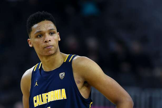 LAS VEGAS, NV - MARCH 09:  Ivan Rabb #1 of the California Golden Bears stands on the court during a quarterfinal game of the Pac-12 Basketball Tournament against the Utah Utes at T-Mobile Arena Arena on March 9, 2017 in Las Vegas, Nevada. California won 78-75.  (Photo by Ethan Miller/Getty Images)