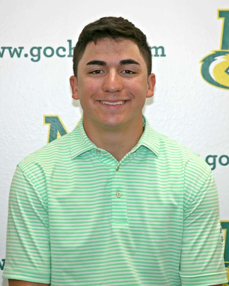 Midland College golfer Michael Salazar Photo: Forrest Allen