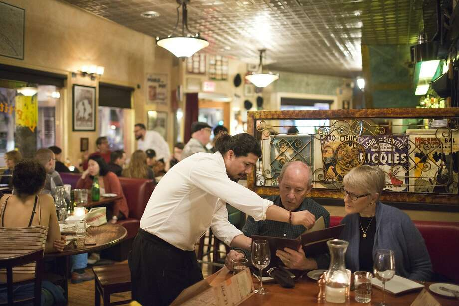Le P'tit Laurent is a staple for the Glen Park neighborhood of S.F. But how should we, as diners, consider the French bistro genre? Photo: Vivian Johnson, Special To The Chronicle