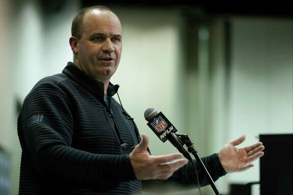 Houston Texans head coach Bill O'Brien speaks during a press conference at the NFL Combine in Indianapolis, Wednesday, March 1, 2017. (AP Photo/Michael Conroy)