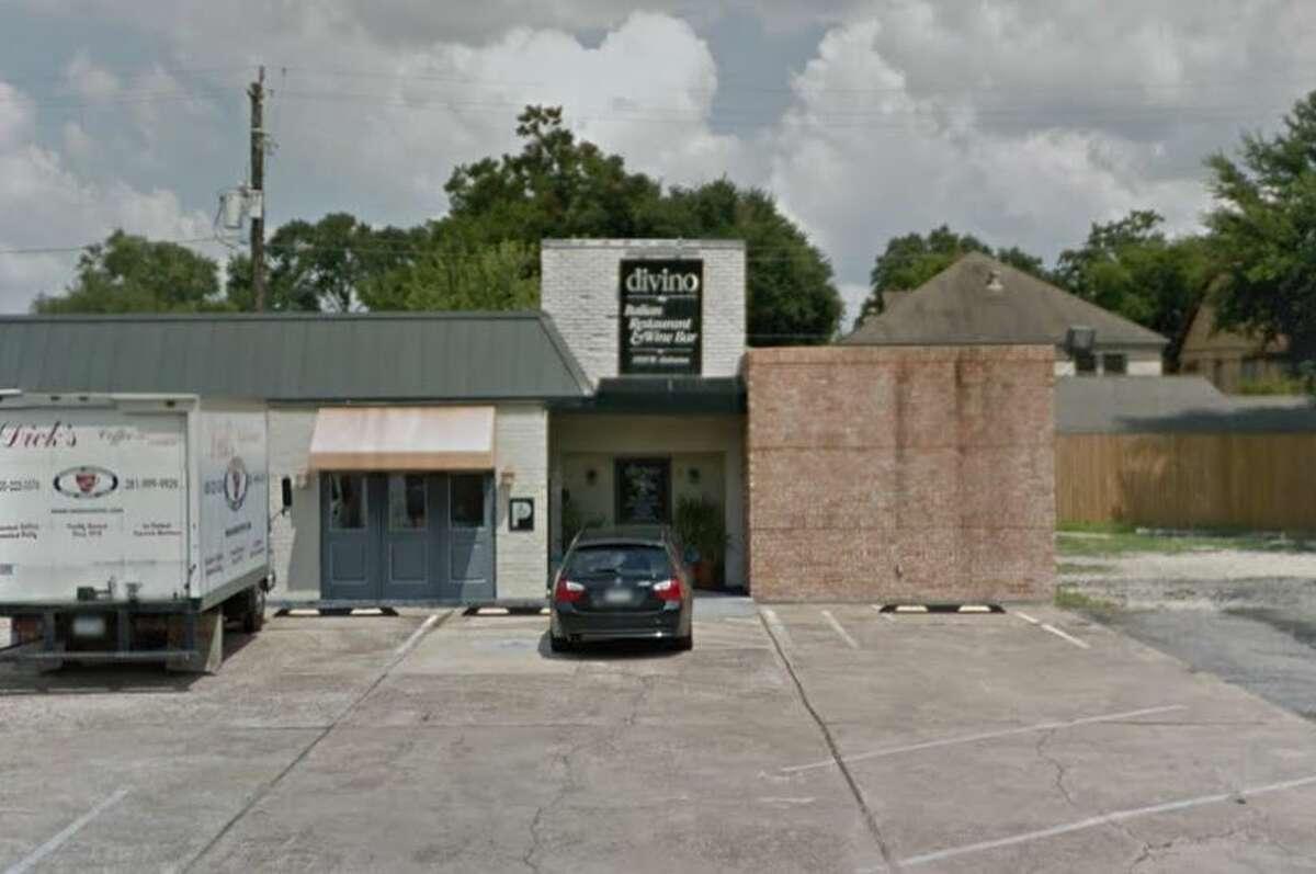Divino Italian Restaurant 1830 W Alabama Houston, TX 77098 Inspection Date: 2/3/2017