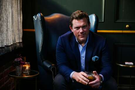 Chef and television host Tyler Florence sits for a portrait at Sequoia in the financial district of San Francisco, California, on Thursday, March 2, 2017.