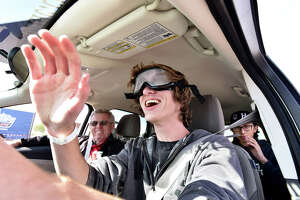Ford's sessions use simulation technology to cover the dangers of driving while impaired.