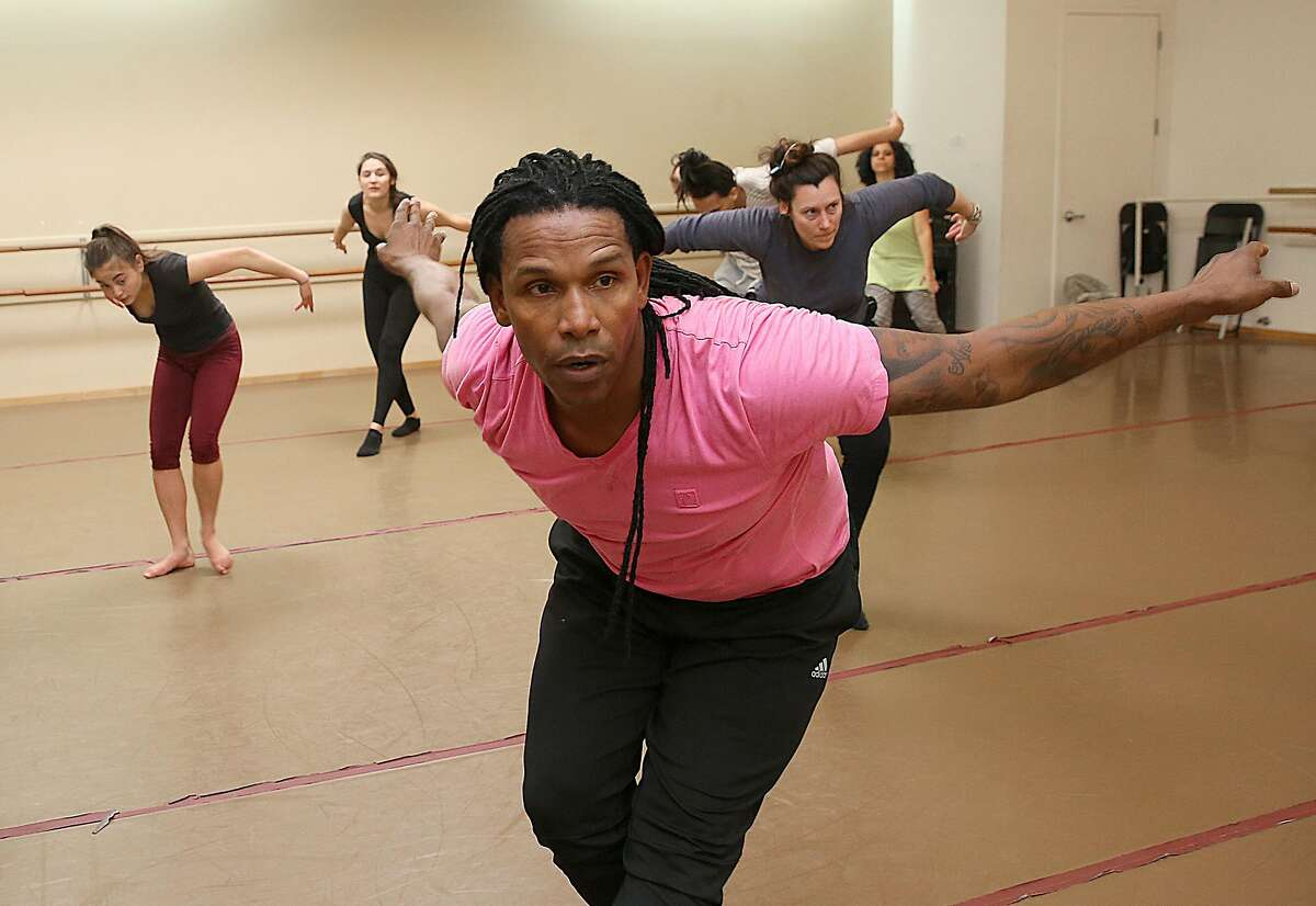 Ramon Ramos Alayo teaches the Afro-Cuban modern dance class on Friday, March 10, 2017, in San Francisco, Calif. Alayo is the artistic director and co-founder of CubaCaribe, a dance organization which represents and spotlights the Bay Area's Cuban and Caribbean artists, dancers and community.