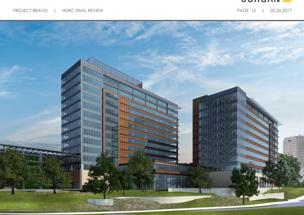 CPS ENERGY'S NEW HEADQUARTERS The local utility's new headquarters at McCullough and Avenue B is expected to be finished next summer and employees will start moving in soon afterward, spokesperson Melissa Sorola said.