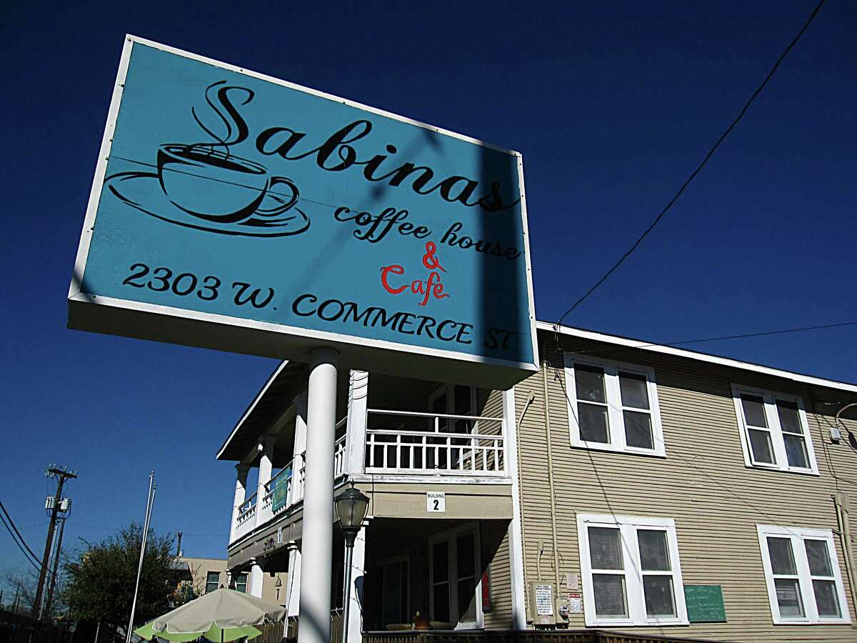 Sabinas Coffee House on West Commerce Street.