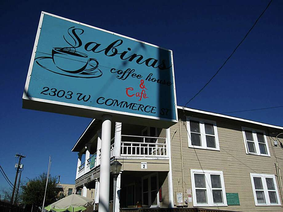 Sabinas Coffee House on West Commerce Street. Photo: Mike Sutter /San Antonio Express-News
