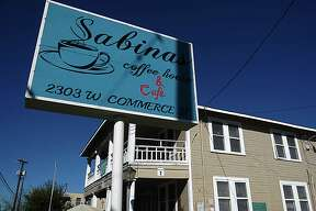 Sabinas Coffee House on West Commerce Street.