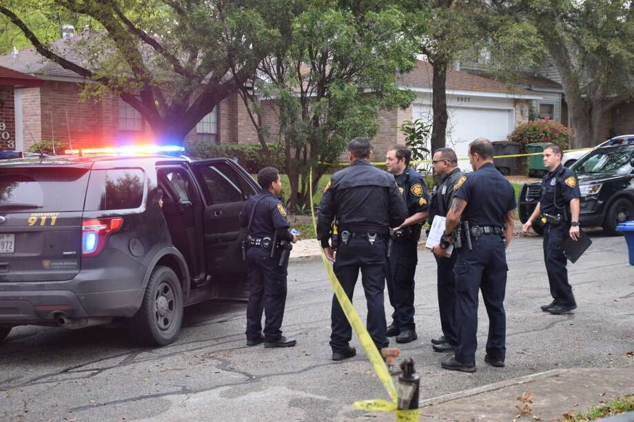 A man was hospitalized Monday after he was stabbed in the chest at a home in the far Northeast Side. Photo: Caleb Downs / San Antonio Express-News