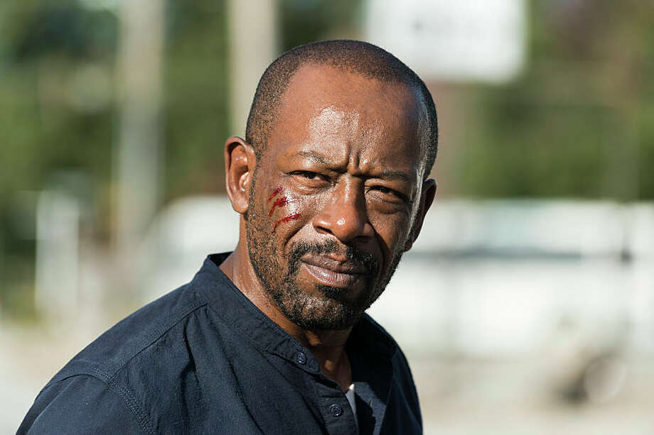 Lennie James as Morgan Jones - The Walking Dead _ Season 7, Episode 14 - Photo Credit: Gene Page/AMC Photo: Gene Page/AMC