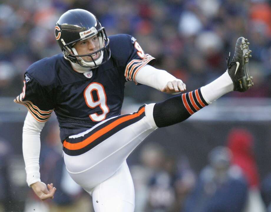 Robbie Gould. Photo: JOHN GRESS, REUTERS