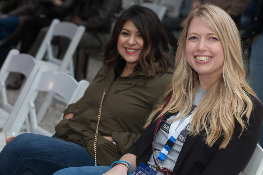 San Antonio filmmakers and officials took to South by Southwest on March 12, 2017, for SATX at SXSW. The Sunday event in Austin included a panel discussion, a mix and mingle with local celebrities and a film showcase. Photo: Fabian Villa, For MySA