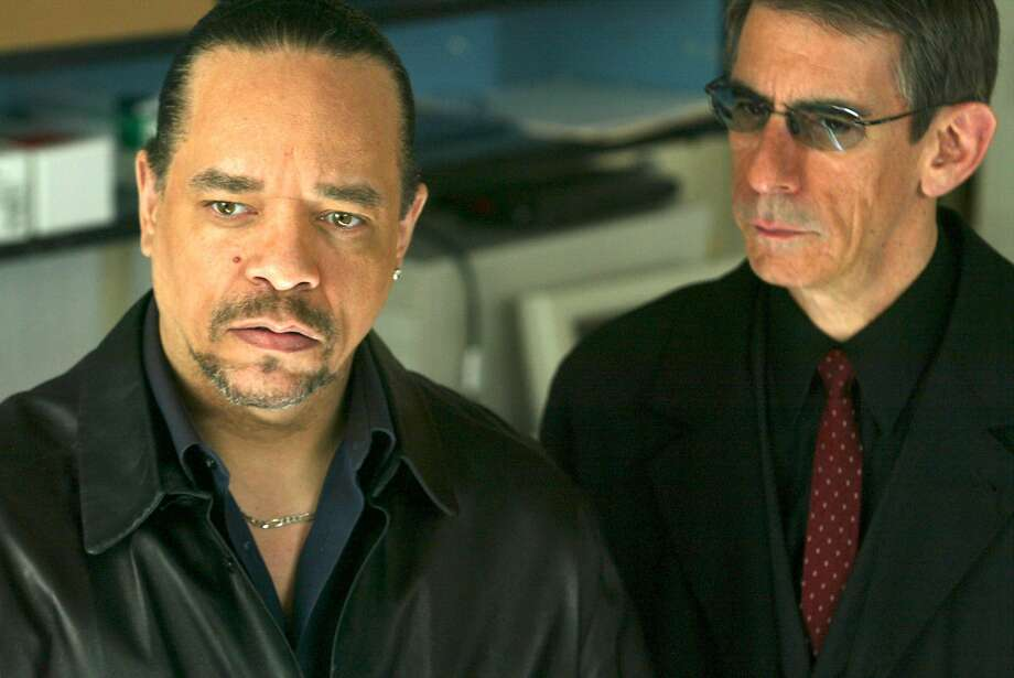 "Ice-T (left, with Richard Belzer in ""Law & Order: Special Victims Unit"") knows what happened in an episode that won't air. Photo: Will Hart"