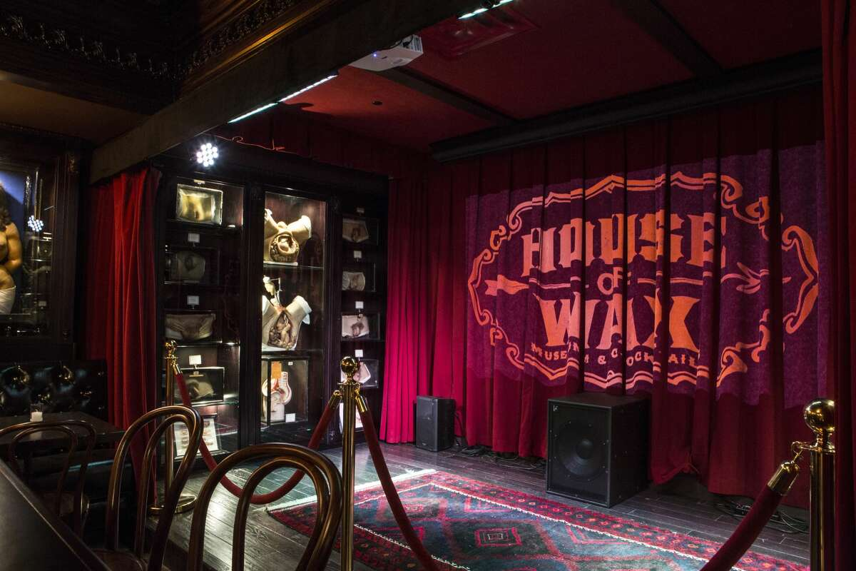 The House of Wax at the Alamo Drafthouse in Brooklyn, NY.