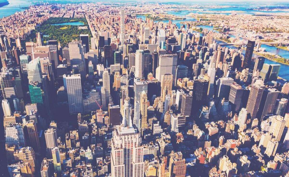 49) New York Annual taxes: $10,545 Monthly taxes: $878 Population: 19,594,330