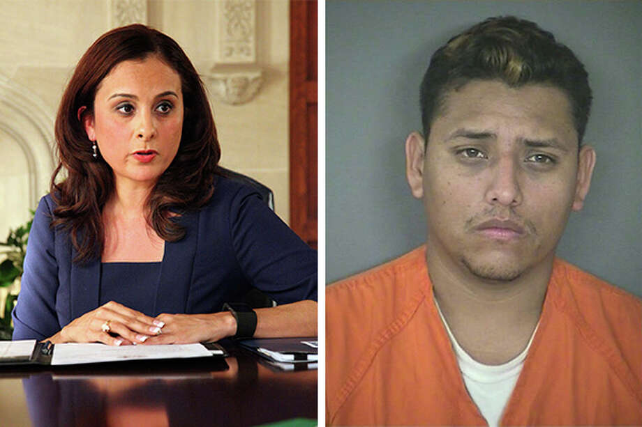 State Rep. Ina Minjarez (left), D-San Antonio, is calling for the state to further investigate the recent death of 15-year-old Jennifer Delgado and her unborn child. Armando Garcia-Ramires (right), 35, who was charged in the case, was released from custody by ICE agents about one month prior to impregnating the victim. Photo: SAEN/Bexar County Sheriff's Office