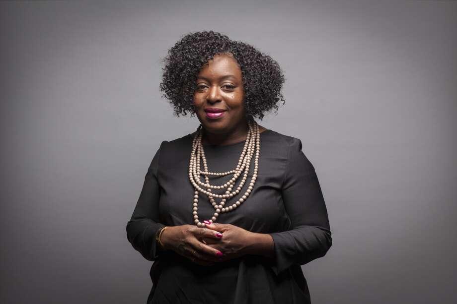Kimberly Bryant, founder of Black Girls Code, says parenthood drove home the need to educate girls.  Photo: Peter DaSilva