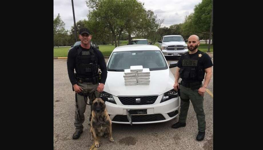 Officers intercepted $1.3 million of cocaine Friday in central Texas.>>Click to see how others have attempted to smuggle drugs.