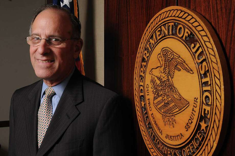 Ken Magidson, former U.S. Attorney for the Southern District of Texas, in his office in 2015. (Chronicle File Photo) Photo: Dave Rossman, Freelance / Freelalnce