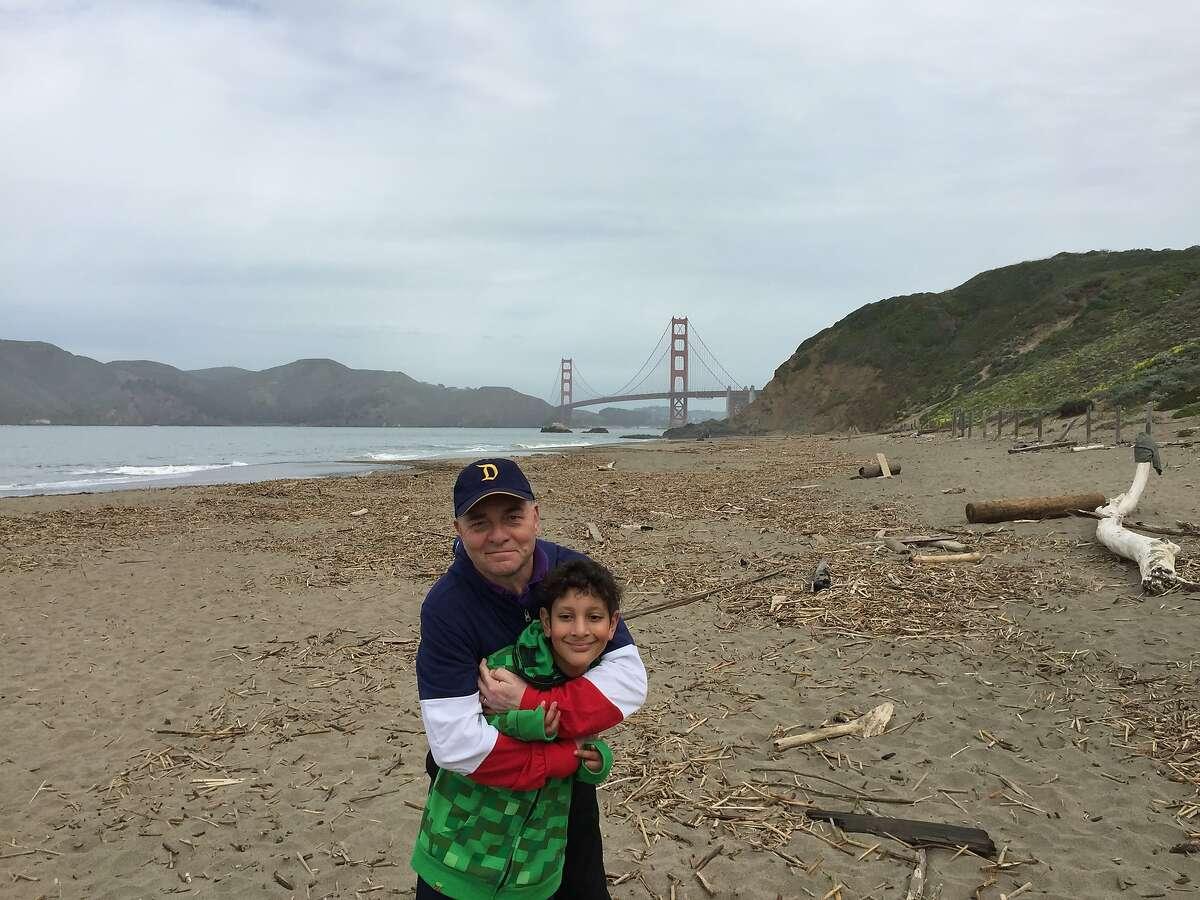 Field trip to the Presidio with Aidan.