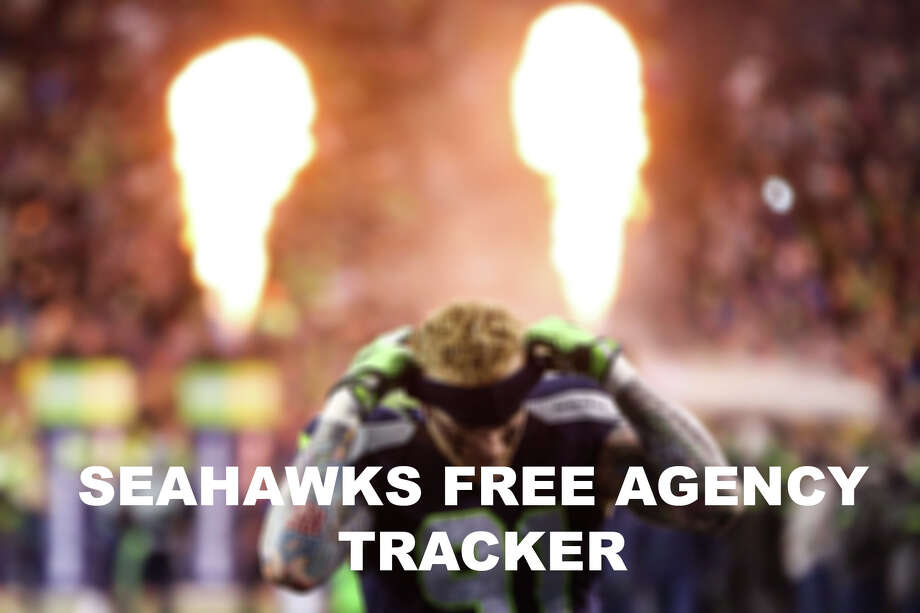 Check out who's staying, who's going and who's new with our 2017 Seahawks free agency tracker. Photo: GRANT HINDSLEY/SEATTLEPI.COM