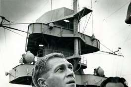 """Actor Steve McQueen was considered one of Hollywood's hottest """"new"""" stars when he filmed scenes for """"The Sand Pebbles"""" aboard the USS Texas in 1966."""