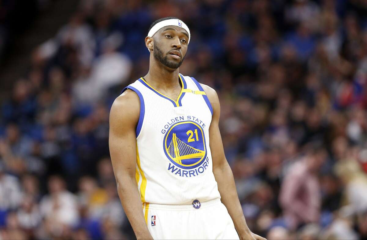 Golden State Warriors' Ian Clark plays against the Minnesota Timberwolves during the second half of an NBA basketball game Friday, March 10, 2017, in Minneapolis. The Timberwolves won 103-102. (AP Photo/Jim Mone)