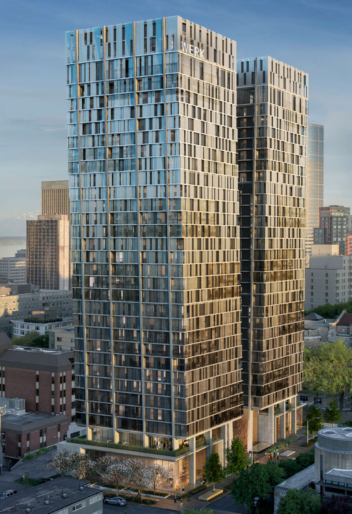 $105 million - 707 Terry Ave. - This project would include two, 33-story apartment towers with retail space at street level.