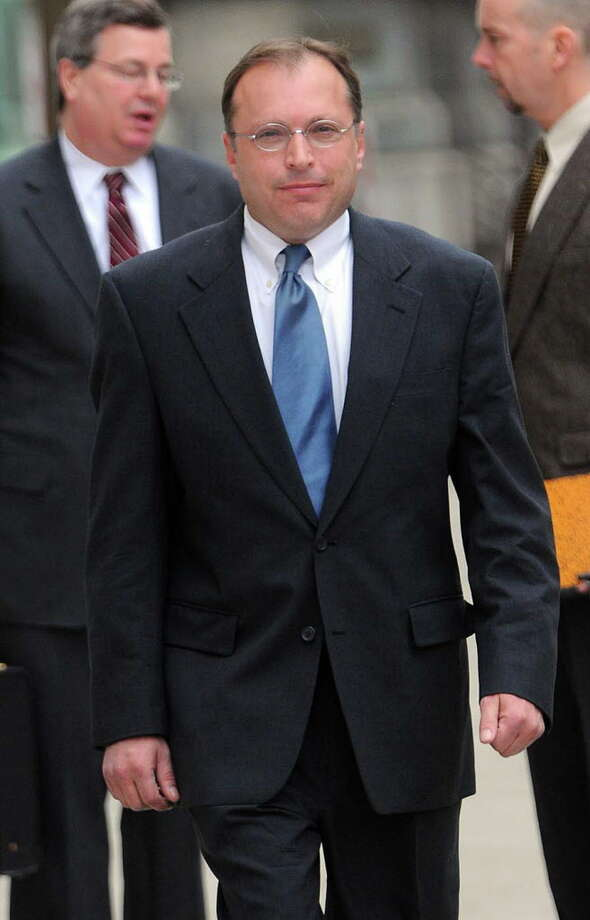 J. Felix Strevell leaves the Federal Courthouse building, Thursday, March 26,2009 in Albany, New York.(Steve Jacobs / Times Union) 1 of 3 photos Photo: STEVE JACOBS / 00003095A