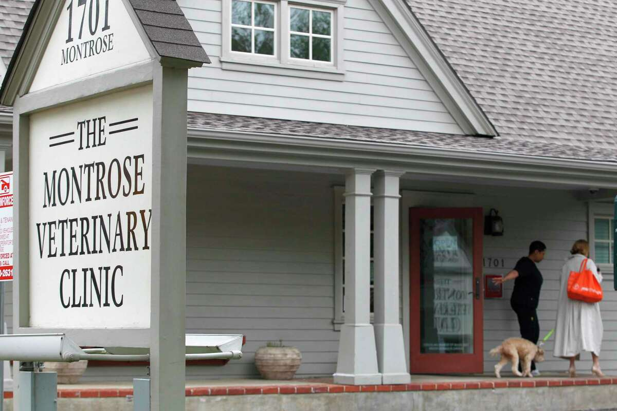 The Montrose Veterinary Clinic is run by Valerie Busick McDaniel, who is charged with solicitation of capital murder. McDaniel purchased the business in 2000.