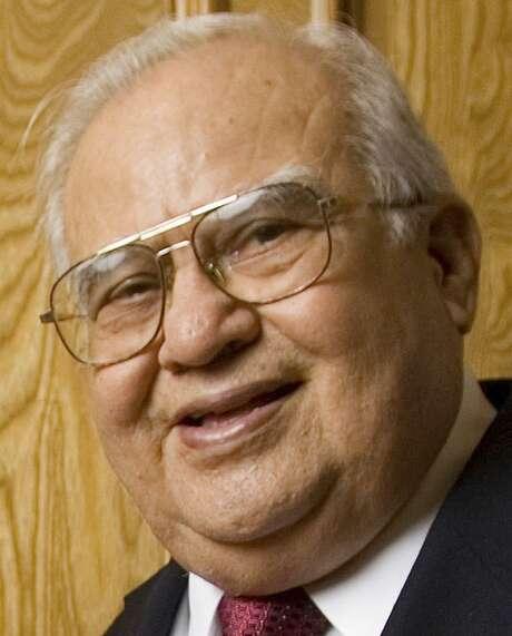 "Former U.S. Rep. Eligio ""Kika"" De la Garza served South Texas for more than 40 years. Photo: Alex Jones /AP / The Monitor"