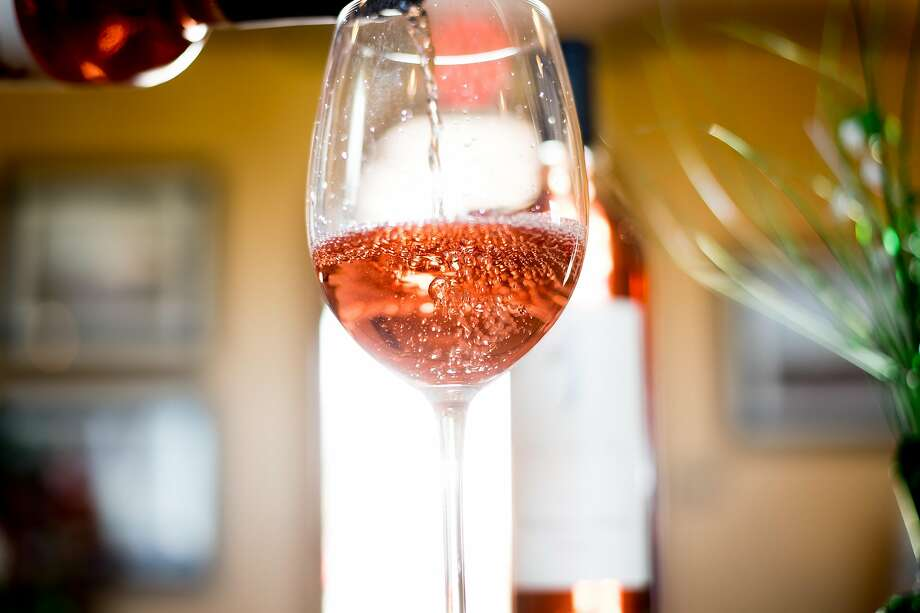 Rosé is poured at the Julietta Winery tasting room in Clarksburg (Yolo County). Photo: Noah Berger, Special To The Chronicle