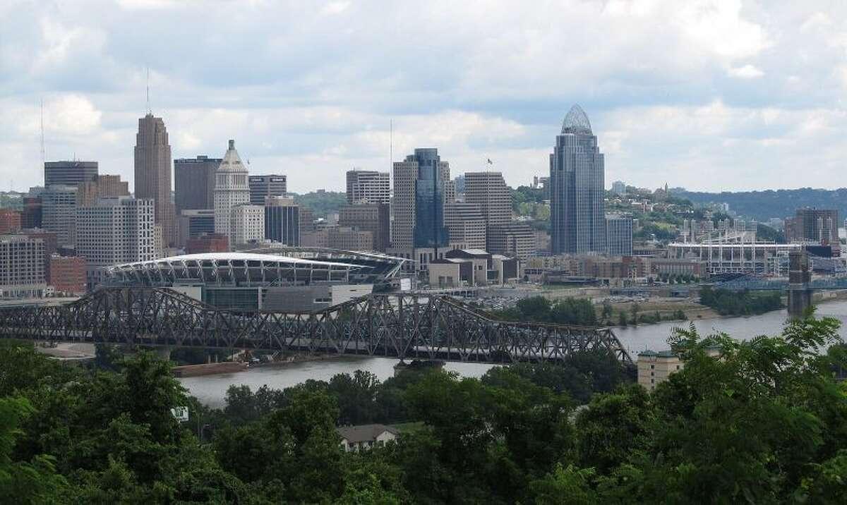 Cincinnati, OhioMedian Household Income: $33,604