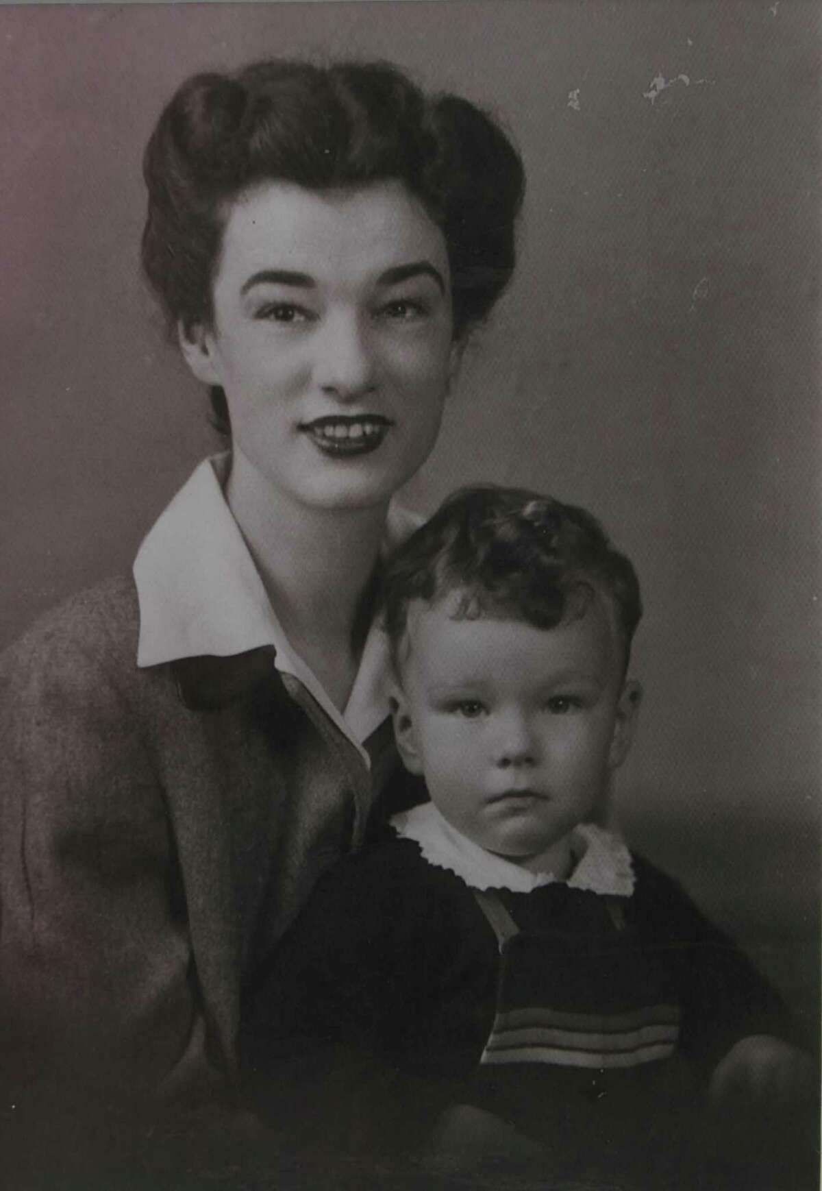 Rich Minus was born in San Antonio on Dec. 10, 1940. He's pictured in this undated photograph with his mother, Julie Lynk Minus. His father, William Slaughter Minus, was a nephew of Texas Ranger John Slaughter.