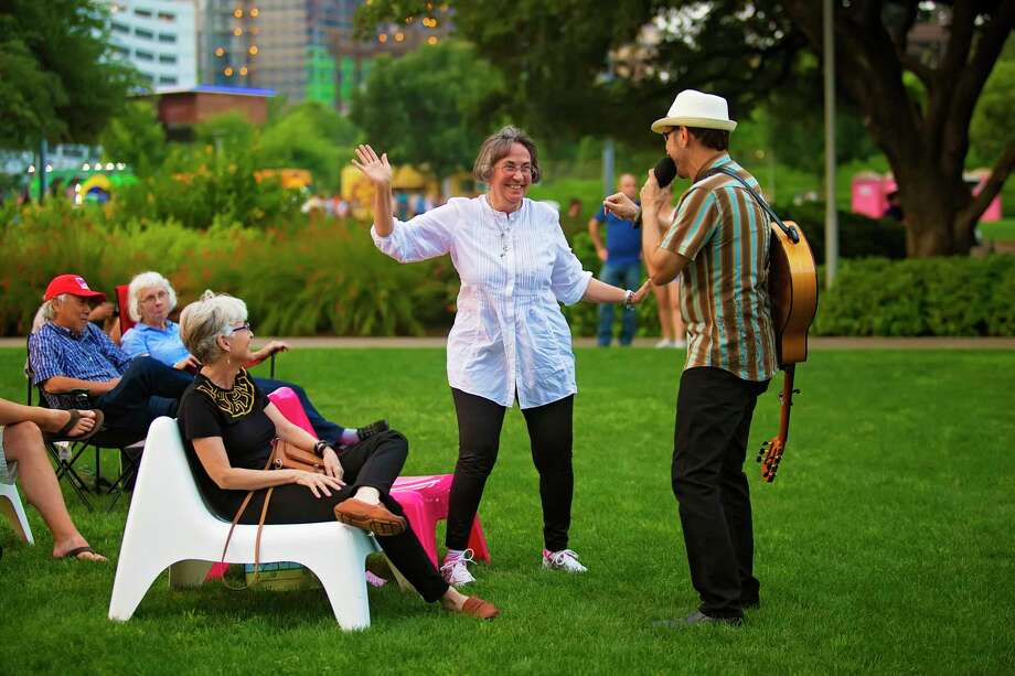 Discovery Green events are popular with all ages.