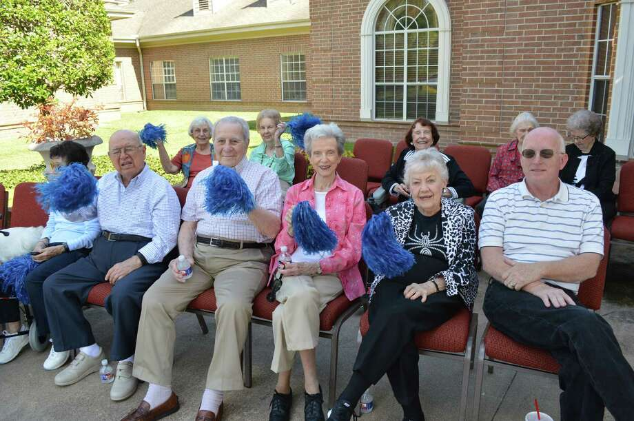 Parkway Place residents gather for the homecoming parade. Photo: Courtesy Of Parkway Place