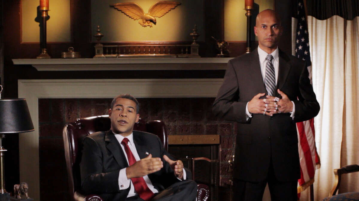 Barrack Obama Jordan Peele as Barrack Obama on Key and Peele.