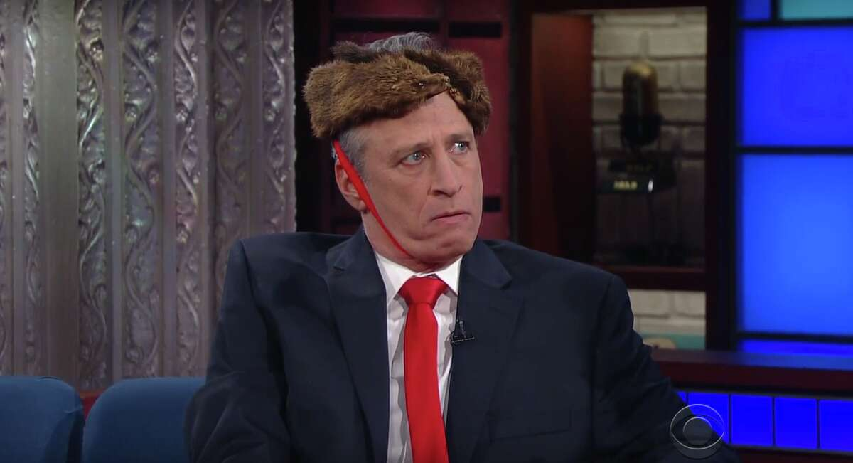 Donald Trump Jon Stewart as Donald Trump on The Late Show with Stephen Colbert.