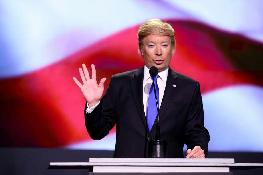 Donald TrumpJimmy Fallon as Trump on The Tonight Show with Jimmy Fallon. Photo: NBC/NBCU Photo Bank Via Getty Images