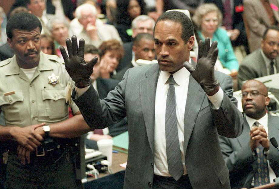 Perhaps the most infamous trial of all time as sporting icon OJ Simpson was tried for double murder, creating the most intense media circus the world had ever seen. The gloves didn't fit, OJ got off and a nation remained deeply divided. Photo: POOL, AFP, Getty Images / This content is subject to copyright.