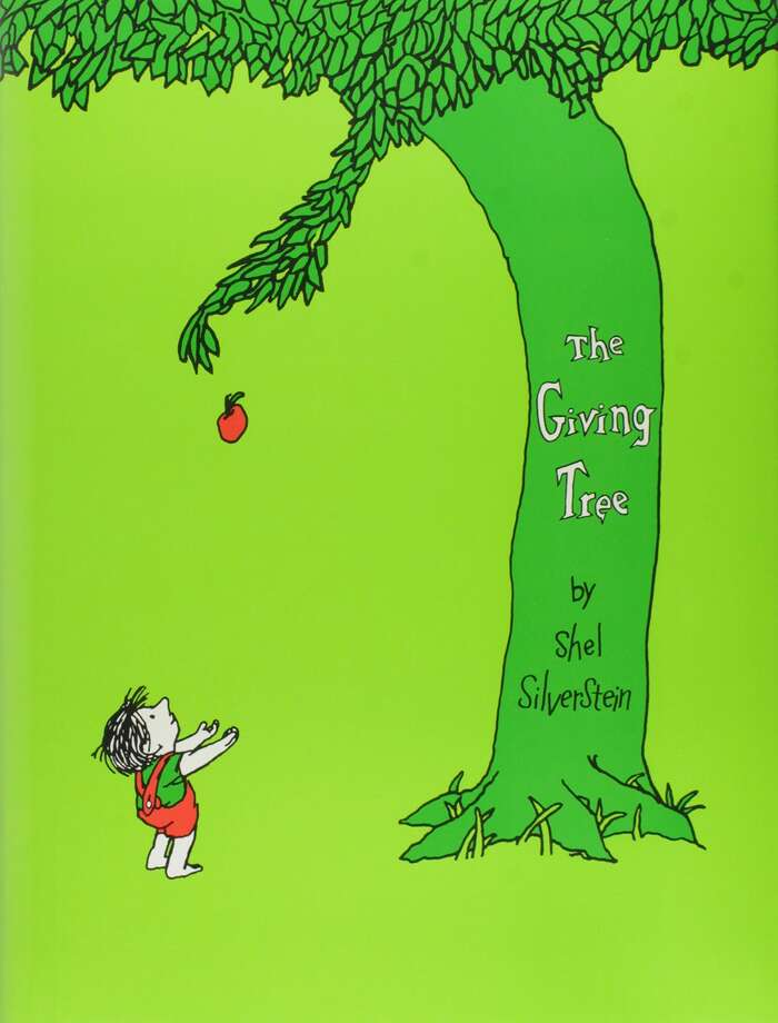 The cover of the Shel Silverstein classic 'The Giving Tree.'Click ahead to see some great books that get kids hooked on reading. Photo: Harper & Row