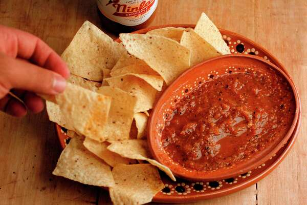 Ninfa's salsa accompanied with tortilla chips on Thursday, Oct. 20, 2011, in Houston. Flavor story featuring local products. ( Mayra Beltran / Houston Chronicle )