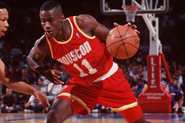 1992-1993:  VERNON MAXWELL OF THE HOUSTON ROCKETS. Mandatory Credit: Tim Defrisco/ALLSPORT