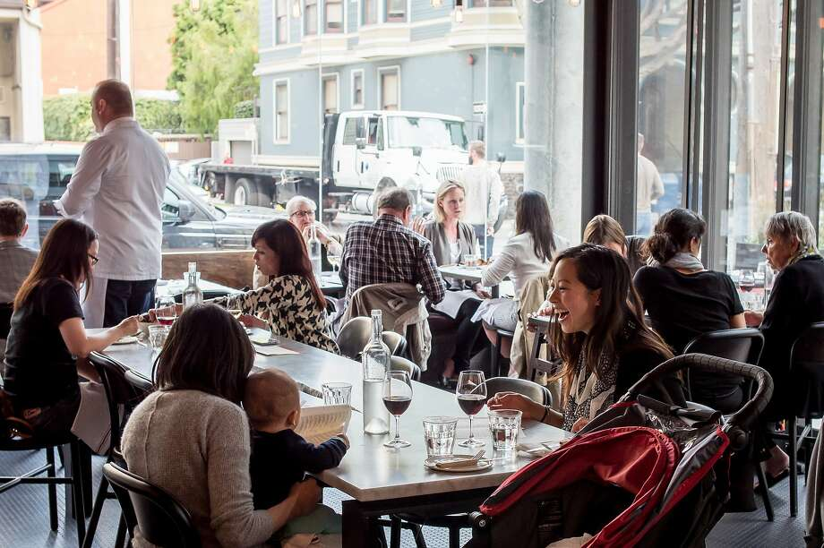 Monsieur Benjamin in S.F. is an updated French brasserie that pushes the boundaries of classic cuisine — and price. Photo: John Storey, Special To The Chronicle